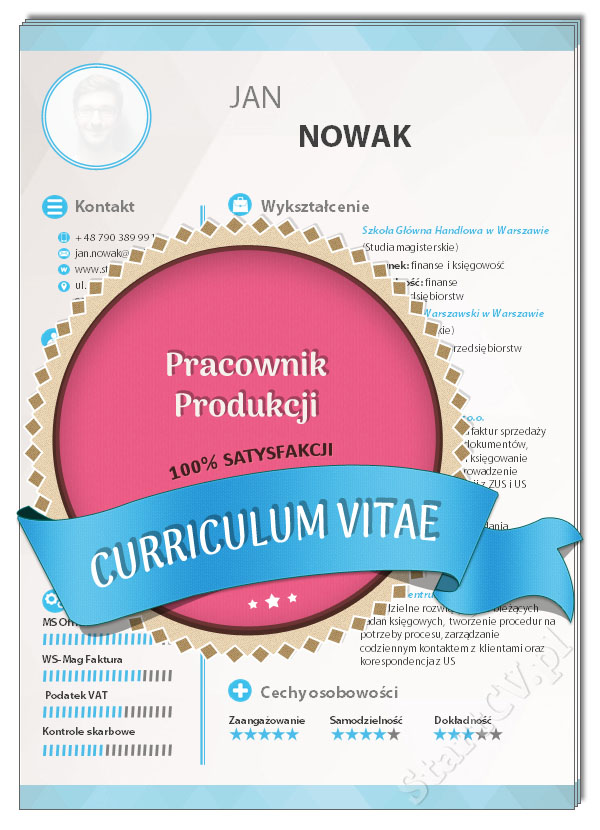 Cv Pracownik Produkcji Wzor Startcv Pl